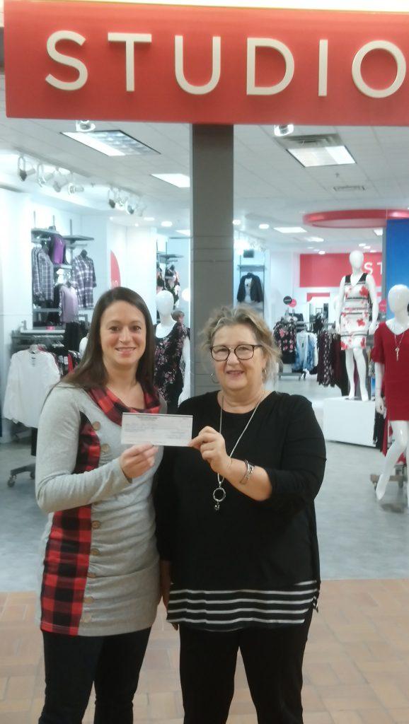Plus de 800$ au Havre des Femmes