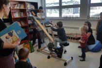 Inauguration de la bibliothèque municipale et scolaire de Saint-André