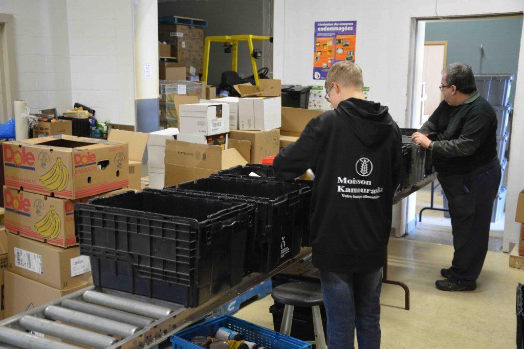 Forte hausse des demandes d'aide alimentaire chez Moisson Kamouraska