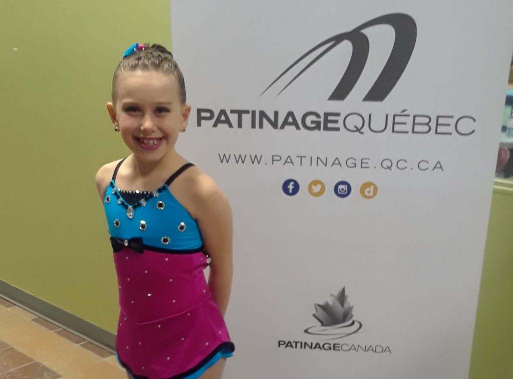 Belle expérience pour la patineuse Mariane Moreau