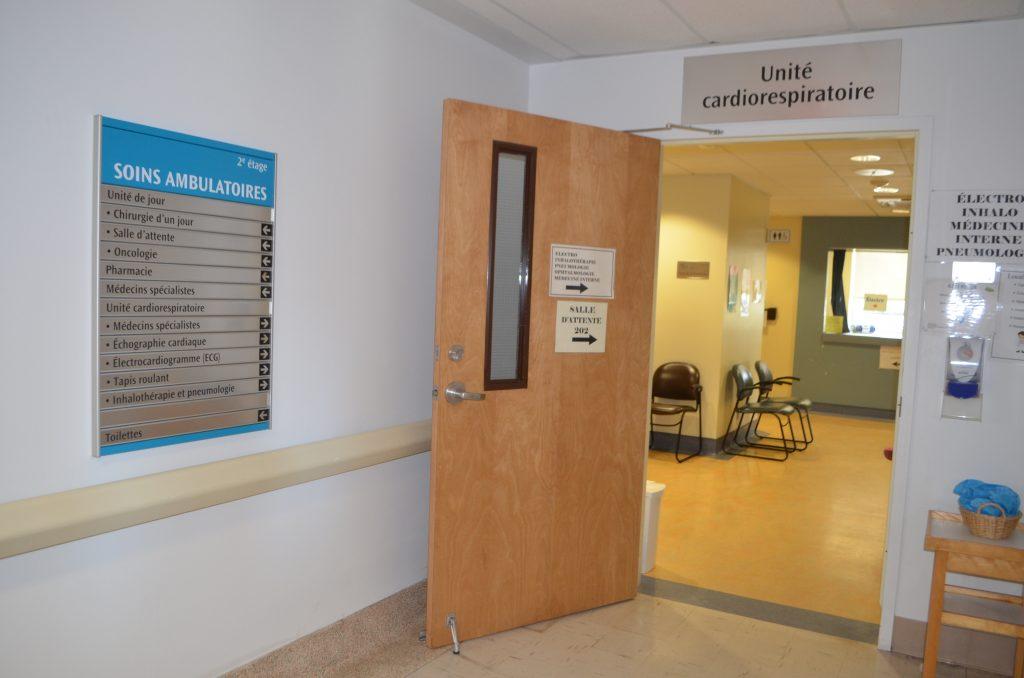 Terminé les endoscopies sous anesthésie générale à l'hôpital de La Pocatière