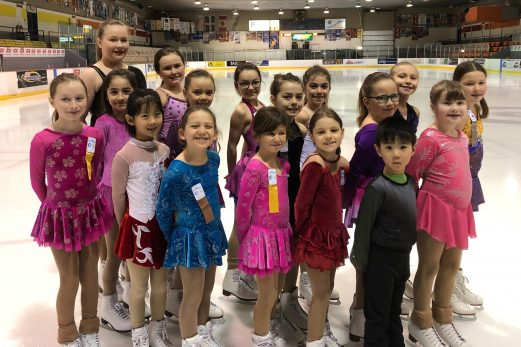 Belle journée pour les jeunes patineurs de Saint-Pascal