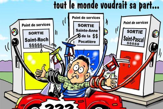 Dans la mire de Métyvié… les stations d'essence en bordure de la 20