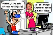 Dans la mire de Métyvié… les cours d'éducation physique en ligne!