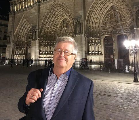 Jacques Boucher attristé par l'incendie de Notre-Dame de Paris