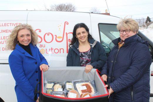 Soupe au bouton offre un nouveau service en sécurité alimentaire